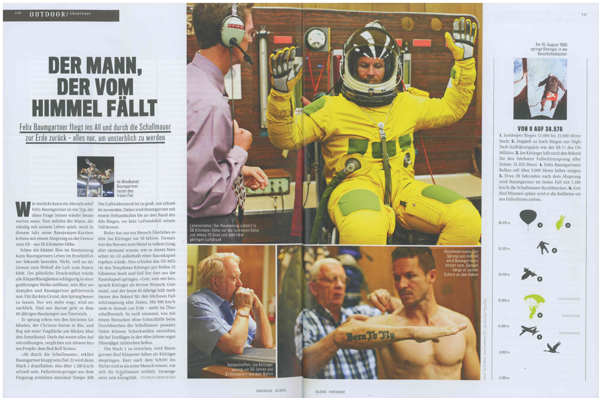 Red Bull Stratos Penthouse May 2010