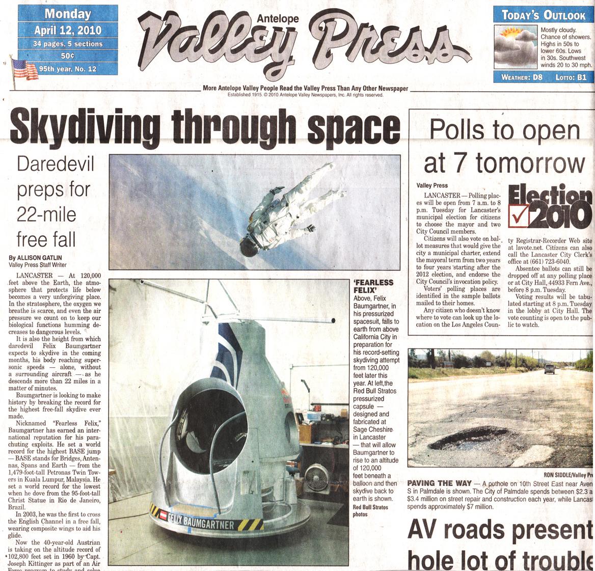 Designall20 July 2012: Antelope Valley Press