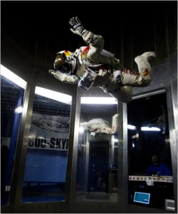 Felix in Wind Tunnel