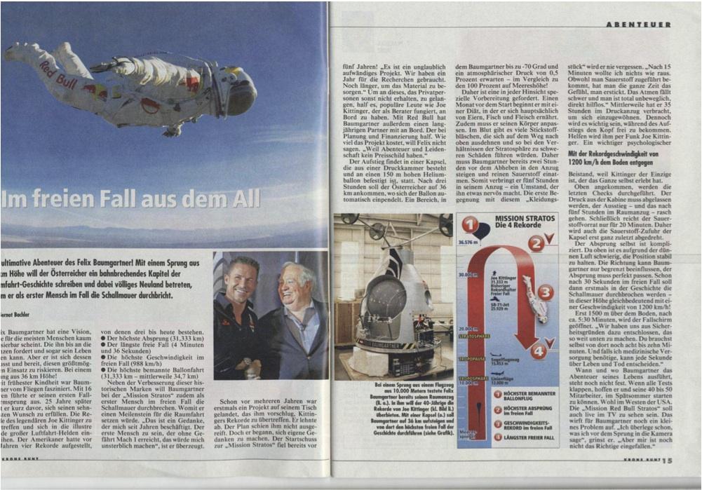 Krone Bunt Austria'n Newspaper