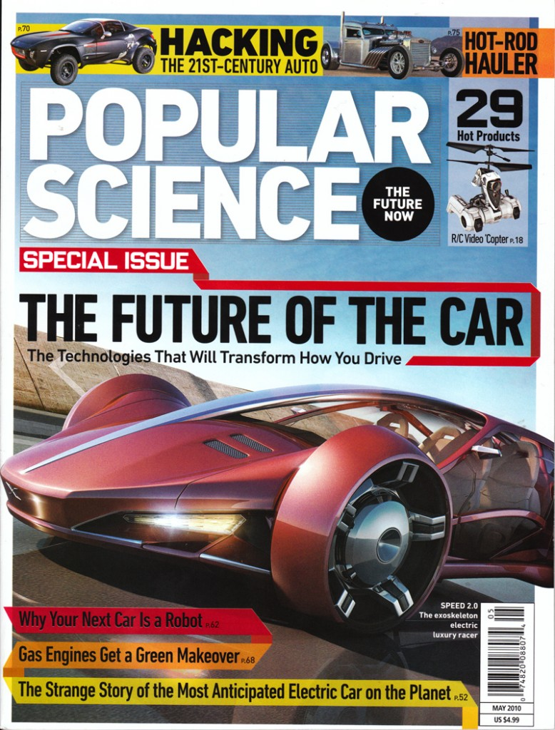 Popular Science Cover May 2010